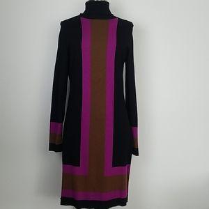 INC turtleneck sweater dress
